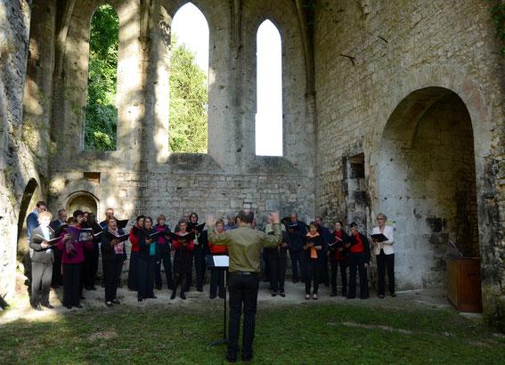 Abbaye de Fontaine-Guérard - Journées européennes du Patrimoine, 19 septembre 2015.