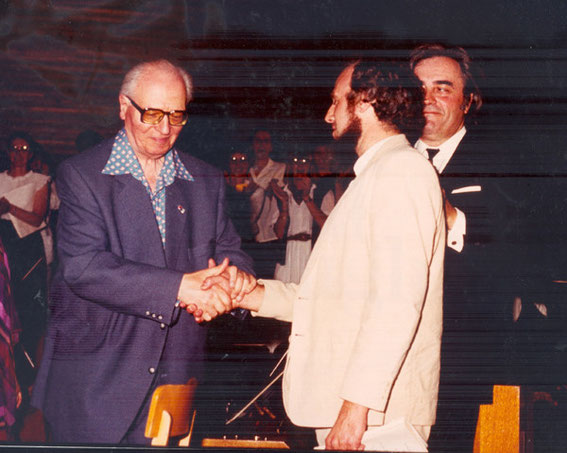 Olivier Messiaen et Patrick Belliard