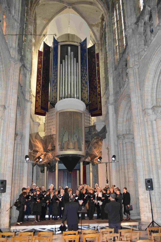 Cathédrale d'Evreux, 22 mai 2015.