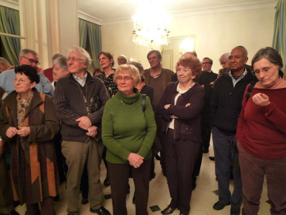 De nombreux anciens choristes d'Ars Viva sont venus participer à cette soirée anniversaire.