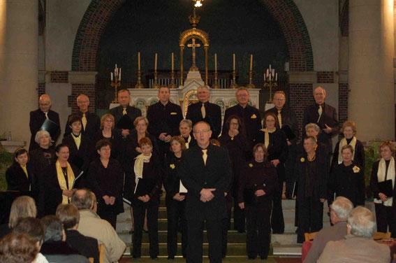 Concert à l'Eglise de Navarre, 22 novembre 2009.