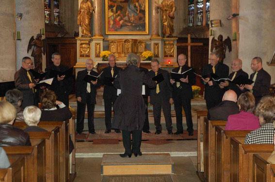Ténors et basses, Eglise du Neubourg (13 novembre 2011)