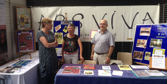 Evreux, Forum des associations (3 et 4 septembre 2016)
