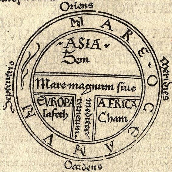 La carte en TO du Moyen Âge