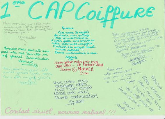 1CAP coiffure 2005/2006