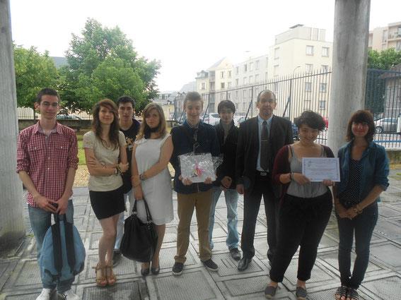 Les lycéens de Maryse Bastié à l'honneur.