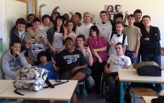Seconde SEN A  2011/2012  Lycée Maryse Bastié  Limoges