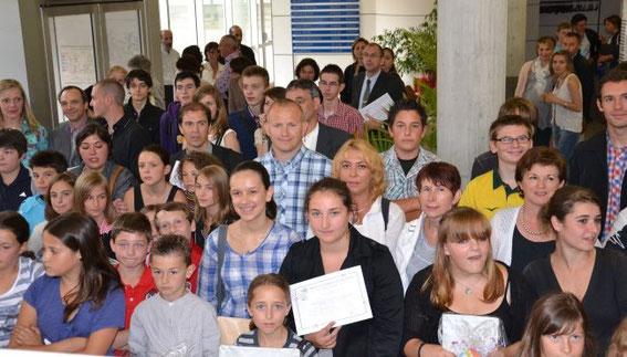 Remise du Prix de la Citoyenneté au Rectorat de Limoges le mercredi 4 juillet 2012.