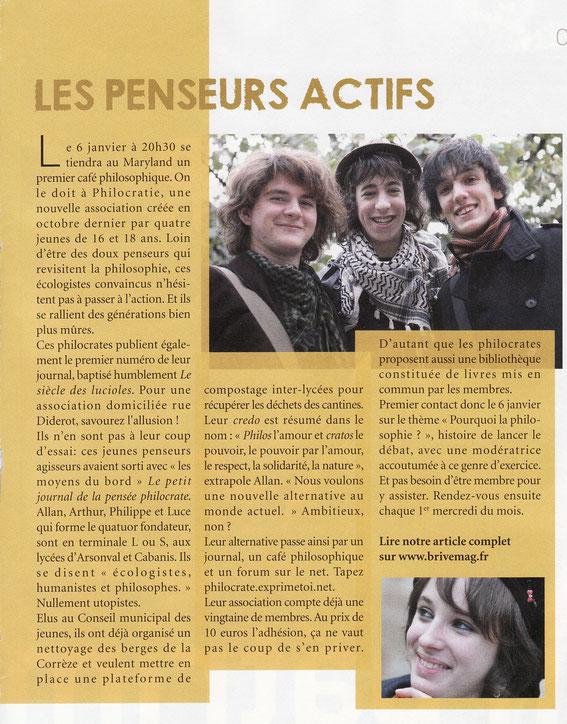 Brive mag N°218 01/2010