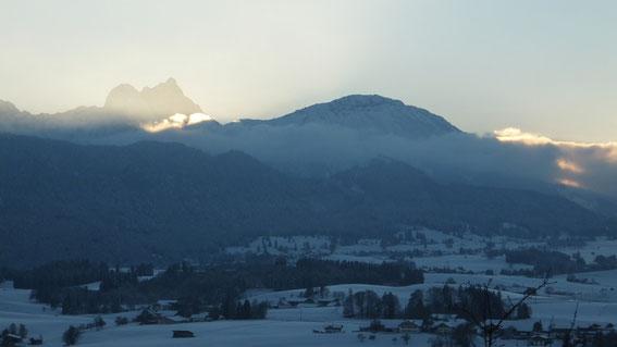 Winterlandschaft am Hopfensee