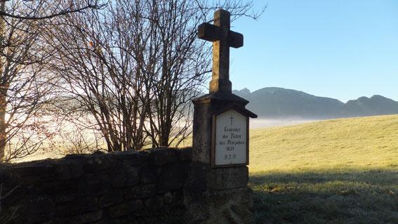 Pestfriedhof bei Zell