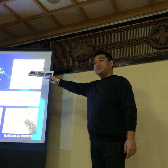 学生時代から20年以上にわたって内モンゴルの緑化活動にたずさわってきた(社)地球緑化クラブ代表・原鋭次郎氏
