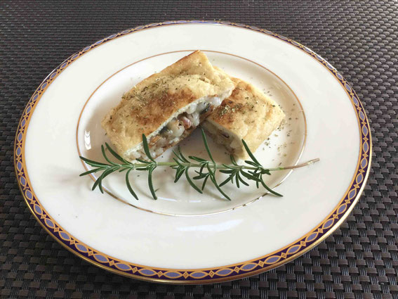 DRYandPEACE提案「六条大麦とヘシコのハーブ風味サンド」