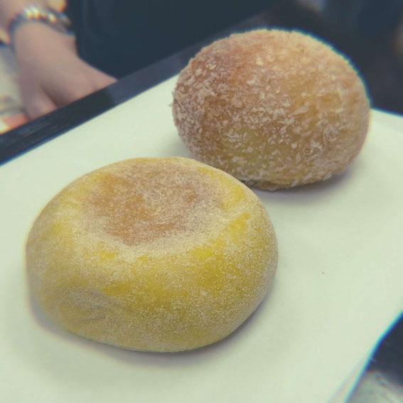 小野塚順子さんと鈴木なお子さんが焼いてきてくれた乾物ドライカレーパン