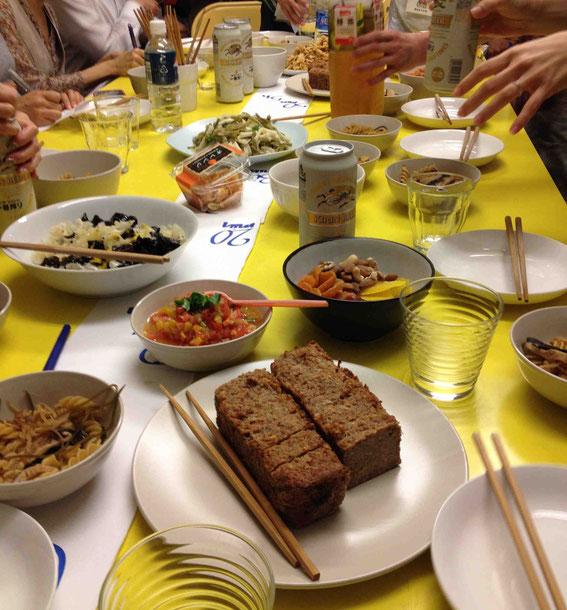 試食も盛りだくさん。ここでしか食べられない乾物をつかった世界の料理も!