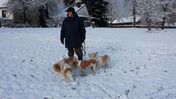 Dezember 2017 - es ist wieder winterlich in Reichshof