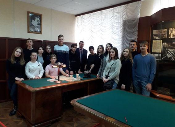 26 октября 2018 года кадеты нашего класса посетили Академию ФСБ России.