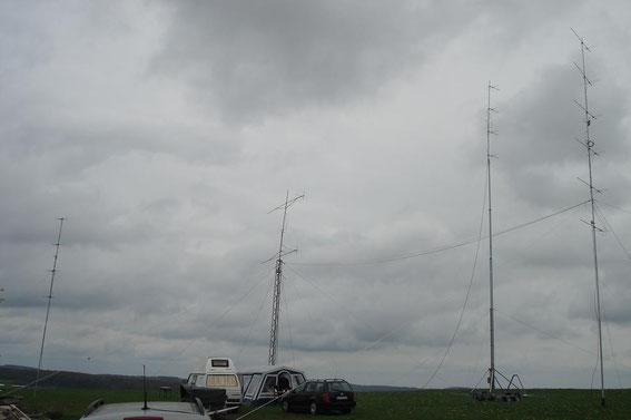 Antenna Farm by DK0ES