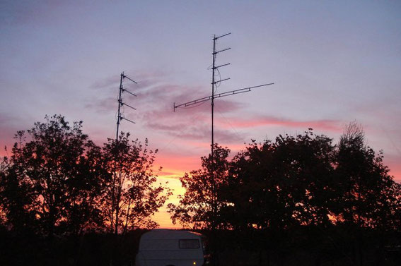 IARU - UHF - Contest  2009  in JO50VQ only 25Watt !!