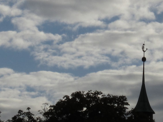 Von VIVA Sprachkurse über den Park zum Wertachbruckertor-Engel
