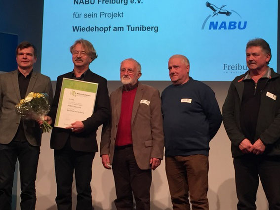 (v.l.) Dr. H. Schaich, C. G. Krieger, F. Nagel, C. Stange. H. Menner, Foto: C. Krieger