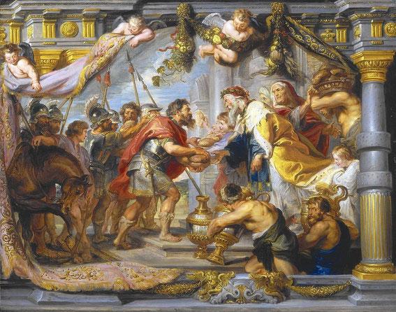 A l'époque d'Abram, le nom de Jérusalem est Salem. Melchisédek y est à la fois roi et prêtre du Dieu Très-Haut. C'est lui qui bénit Abram et qui reçoit de sa part la dîme de tout. Melchisédek est réellement un personnage très important !