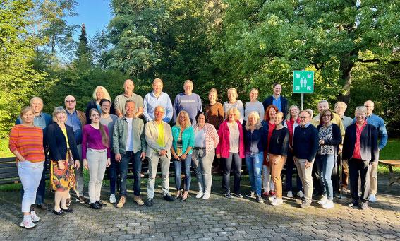 Das Lehrerkollegium der Städt. Berufsschule für Versicherungs- und Personalwesen München