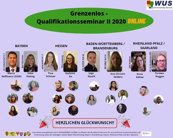 Grenzenlos-Tagungshaus für Online-Seminare, Screenshot © WUS 2020