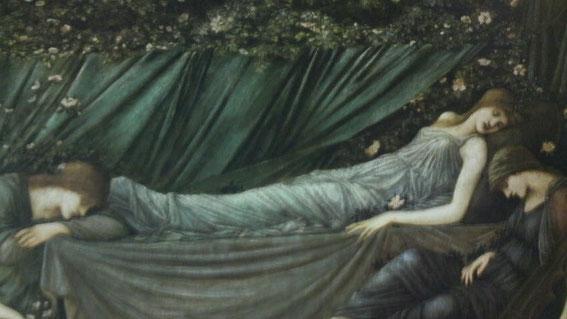 「いばら姫」から バーンジョーンズ