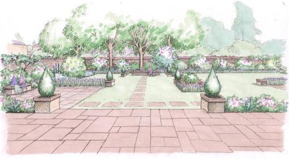 Sketches - Mhairi Auld | Landscape Gardener | Garden ...