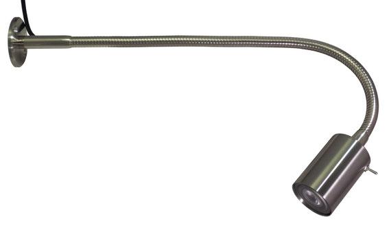 LED Schwanenhalslampe FT800 A - Wandleuchte, Tischleuchte, Arbeitslampe
