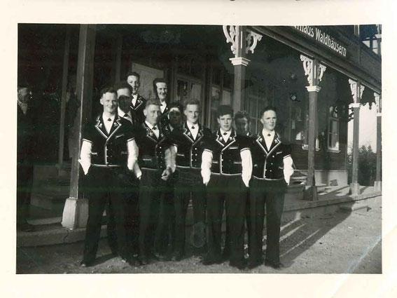 Jodlerchörli 1957