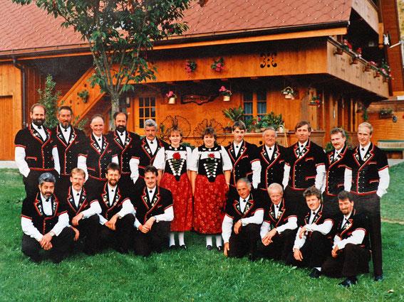 Jodlerchörli Moosegg 1992