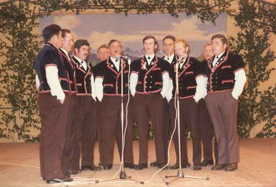 Oberemmentalisches Jodlertreffen Siehen 1973