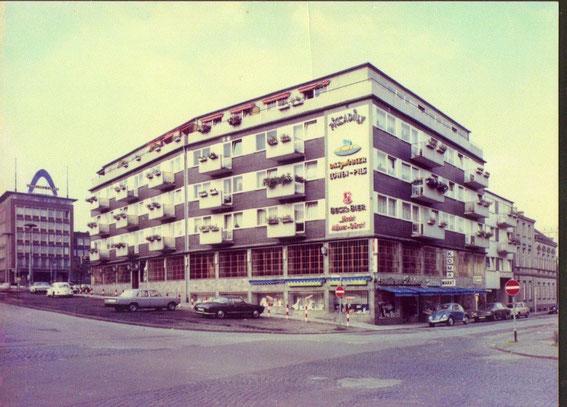 Das Sanitätshaus Steinberg in den 60-er Jahren