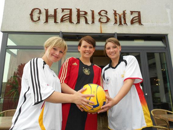 Die Mitarbeiter im Restaurant Charisma freuen sich auf Ihren Besuch!