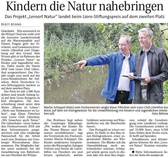 Quelle: Wümme Report vom 10.07.2019