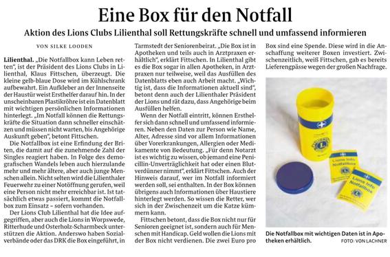Quelle: Wümme-Zeitung vom 24.04.2019
