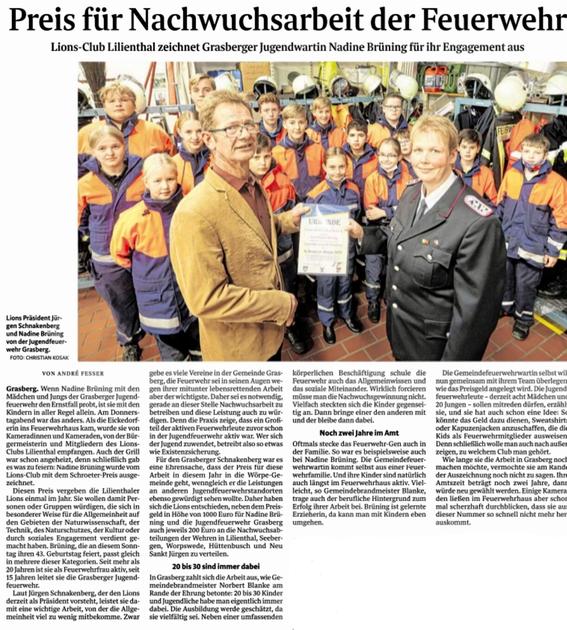 Quelle: Wümme-Zeitung vom 16.10.2021