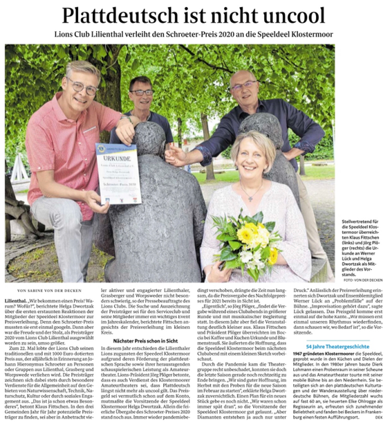 Quelle: Wümme-Zeitung vom 14.06.2021