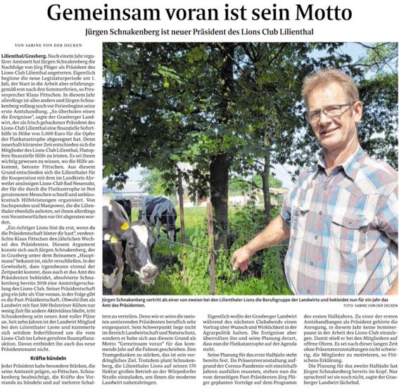 Quelle: Wümme-Zeitung vom 04.08.2021