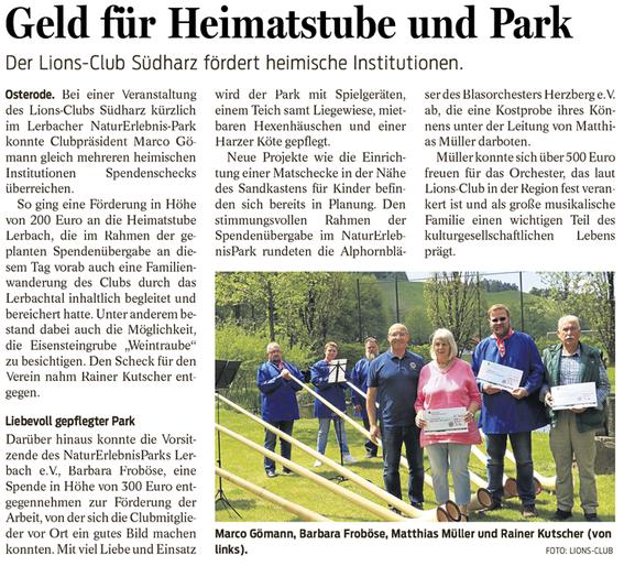 Harzkurer, 5.6.2019
