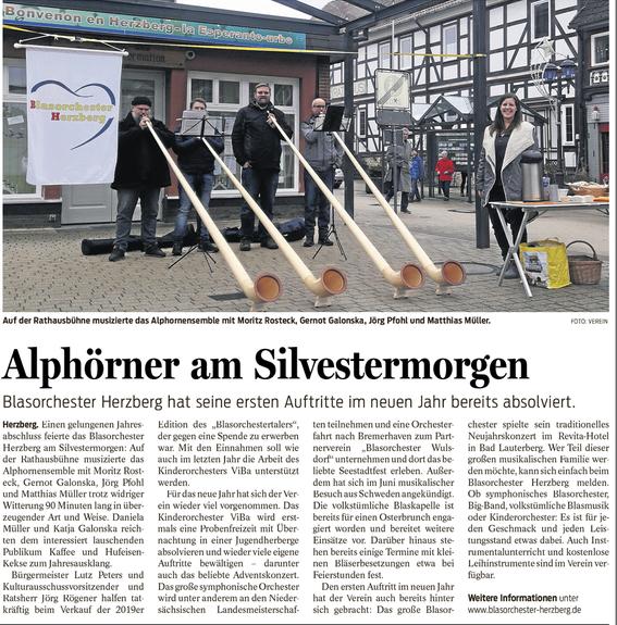 Harzkurier, 5.1.2019