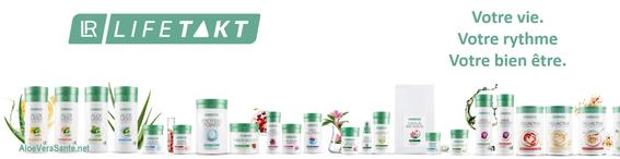 Tous les produits Santé - Health LR dans un aperçu clair, mais lance également un concept révolutionnaire : « Le rythme de votre vie ».  AloeVeraSante.net LR Lifetakt