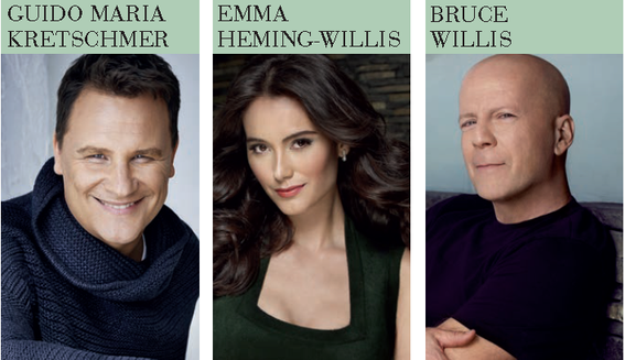 Des lignes de parfums extraordinaires, représentés par des stars internationales comme Bruce Willis, Hemma Heming-Willis, Christina Ferreira