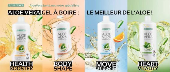 Nos cinq gels d'aloe vera à boire certifiés IASC le meilleur label de l'aloe vera. LR Health and Beauty et Aloe Vera Santé et Beauté NOUVEAU Immune Plus nouvelle boisson aloe vera pour votre santé et boostez l'immunité, avec miel et gingembre