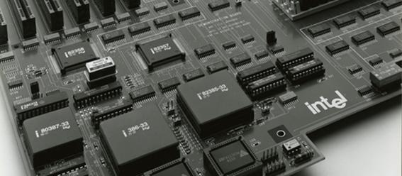 Intel 80386 motherboard © Intel