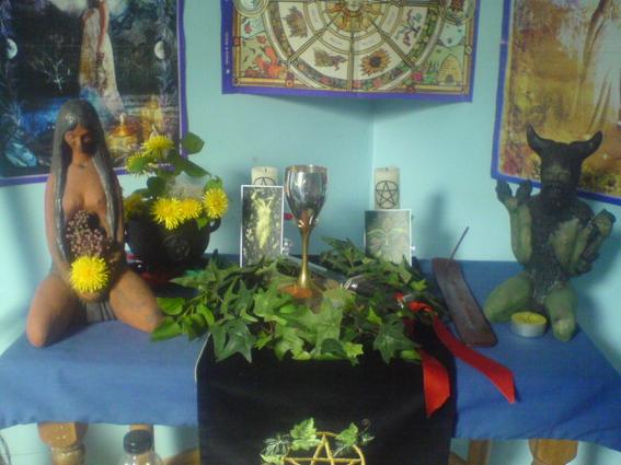Xxglennxx - Wiccan Altar for Beltane