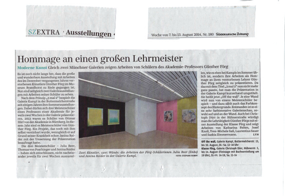 SZ Extra v. 07. August 2014