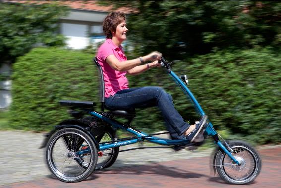 Dreiräder: Ideal bei einem erhöhtem Bedarf an Fahrsicherheit